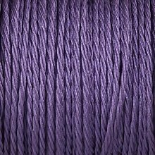 Smithery - Twisted Lighting Cable Purple Braided