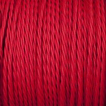 Smithery - Twisted Lighting Cable Red Braided