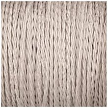 Smithery - Twisted Lighting Cable Silver Braided