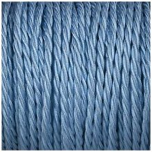 Smithery - Twisted Lighting Cable Sky Blue Braided