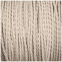 Smithery - Twisted Lighting Cable White Braided