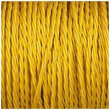 Smithery - Twisted Lighting Cable Yellow Braided