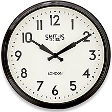 Smiths Large Wall Clock with Arabic Numerals - 50cm