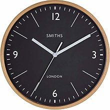 SMITHS Wooden Wall Clock