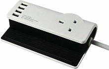 SMJ Desktop Charging Station 4 X USB Ports 1.4MTR