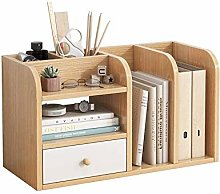 SMLZV Book Rack,Bookcases,Cabinets & Shelves,Home