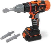 Smoby Toy Black + Decker Electric Drill