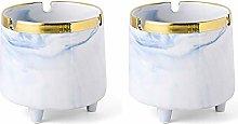 Smokeless Ashtray Windproof Ceramic Ashtray