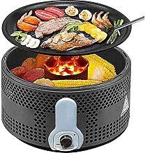 Smokeless BBQ Grill, Portable Charcoal Grill, Mini