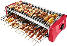 Smokeless Electric Grill,Compact Portable BBQ for