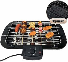 Smokeless Indoor Electric Grill with Removable