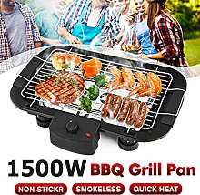 Smokeless Indoor/Outdoor Electric Grill, Household