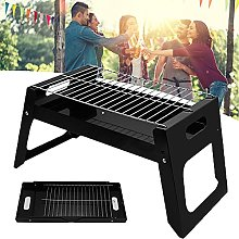 Smoker Charcoal BBQ, Mesh Stainless Steel Grill