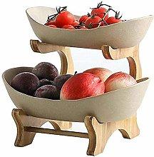 Smono Fruit Tray Creative Ceramic Fruit Plate,