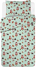Smoobery Mill Cot Bed Duvet Cover Set   100x120