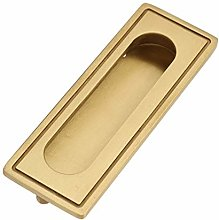 Smooth Texute Brass Material Embedded Handle