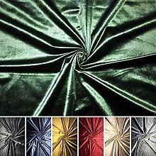 Smooth Velvet Luxury Pile Upholstery Ottoman