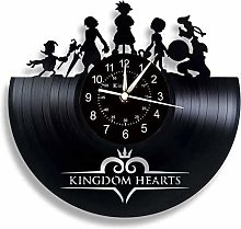 Smotly Vinyl Wall Clock, Big Wall Clock Decorated
