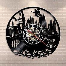 Smotly Vinyl wall clock, creative retro Harry