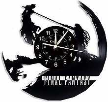 Smotly Vinyl Wall Clock, Final Fantasy 7 Color