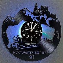 Smotly Vinyl wall clock, Hogwarts express train