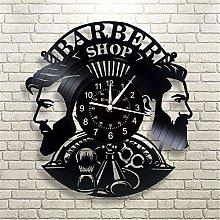 Smotly Vinyl Wall Clock, Large Wall Clock With