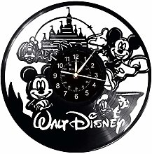 Smotly Vinyl wall clock, Mickey and Minnie mouse