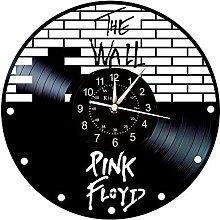 Smotly Vinyl wall clock, PINK FLOYD theme wall