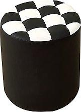 SMTAO Fashion Footstool Small Bench Creative Pu
