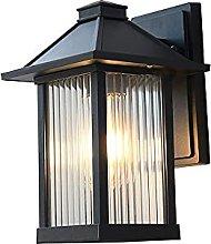SMTAO Wall Lamp,Exterior Wall Lanterns Light Black