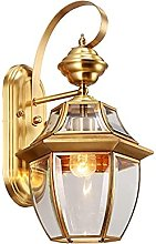 SMTAO Wall Lamp,Modern Wall Lamp E27 Glass Wall