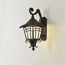 SMTAO Wall Lamp,Nautical Rustic Lantern 18.8 inch