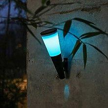 SMTAO Wall Lamp,Small Solar Waterproof Fence Light