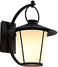 SMTAO Wall Lamp,Wall Lamp Retro Outdoor Black