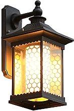 SMTAO Wall Lamp,Wall Lantern Waterproof Sconce