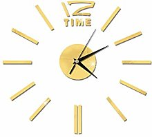 SMTD Living Room DIY Acrylic Mute Wall Clock