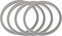 SMTHOME 4X Gray Replacement Rubber Gasket Seal