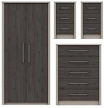 Smyth 3 Piece Ready Assembled Package - 2 Door