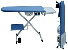 Snail vacuum cleaner and heated ironing table for