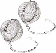 Snap Ball Tea Strainer - Stainless Steel Tea Ball