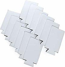 Snertz 10 Pack Slim white Blank DIY Sublimation