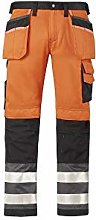 Snickers 32335574046 High-Vis Trousers Class 2