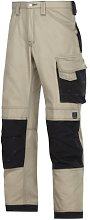 Snickers 33142004158 Craftsmen Trousers Canvas+