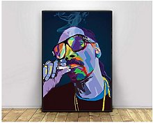 Snoop Dog Pop Art Hiphop Rapper Music Singer
