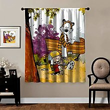 snoopy Blackout Curtains,Calvin Hobbes (17), rod