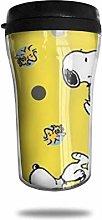Snoopy Coffee Cups Travel Mug Warmer Tumbler Cup,