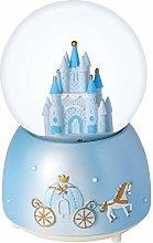 Snow Globe Gift Crystal Ball Castle Music Box