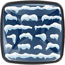 Snow Ice [4 PCS]Decorative Cabinet Wardrobe