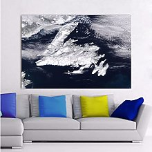 Snow Mountain HD Print Canvas Poster Painting