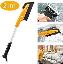 Snow Scraper, Snow Brush Snow Shovel, Detachable